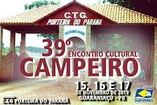 XXXIX Encontro Cultura Campeiro