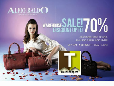 Alfio Raldo Warehouse Sale 2013