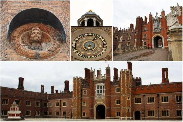 Entrada del Palacio de Hampton Court, Londres