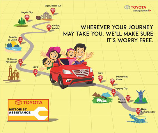 2015 Toyota Motorist Assistance Campaign