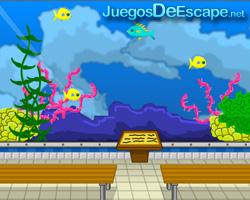 solucion juego Hooda Escape Aquarium guia
