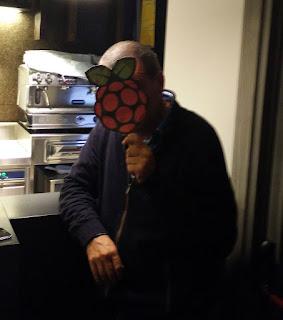Raspberry present
