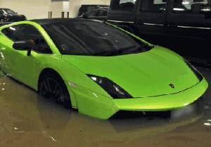 solusi mobil terendam banjir