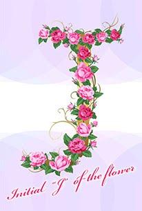 花のイニシャル「J」