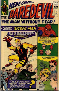Daredevil's first appearance in comics