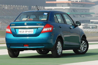 new maruti suzuki swift dzire rear view