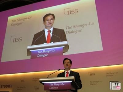 Thủ tướng Nguyễn Tấn Dũng với bài phát biểu được dư luận đánh giá cao tại Đối thoại Shangri-La