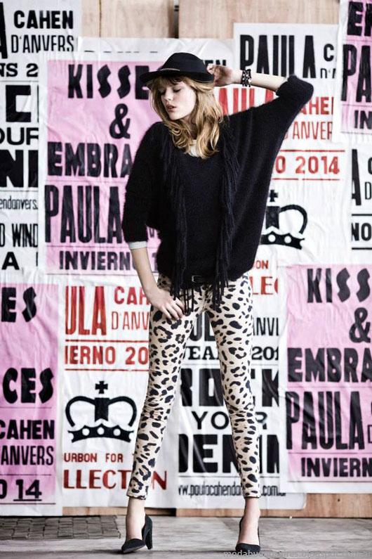 Paula Cahen D'Anvers otoño invierno 2014. Moda otoño invierno 2014.