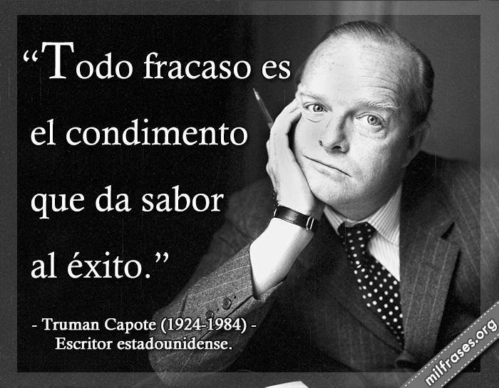frases y libros de Truman Capote, escritor estadounidense.