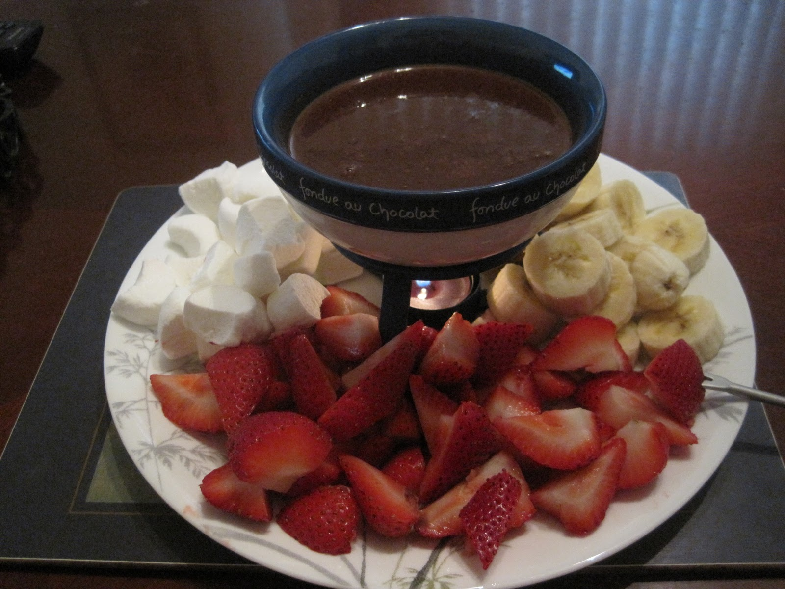 Valentine's Chocolate Fondue Recipe — Dishmaps