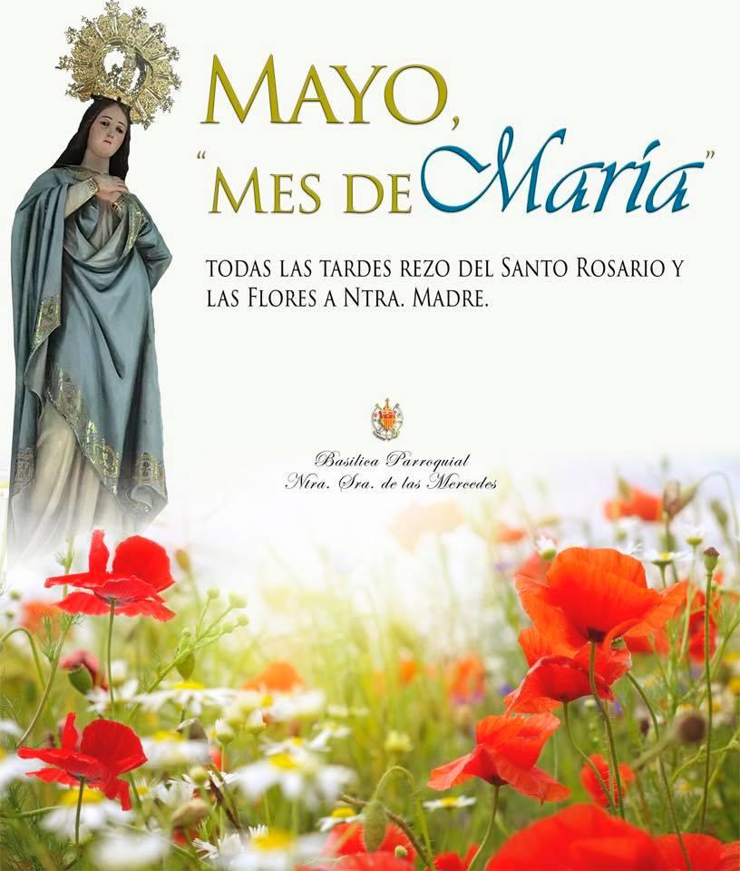 """Mayo, """"Mes de María"""""""