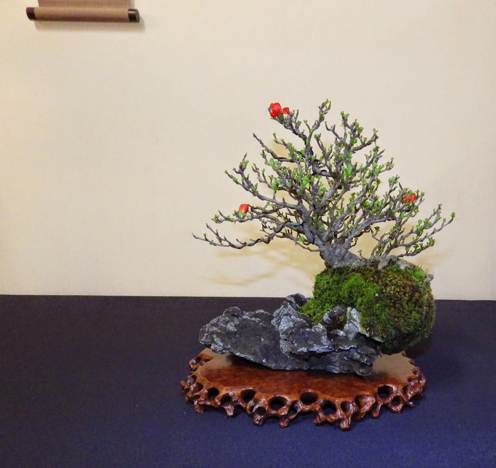 Bespoke Bonsai Stands Shohin UK II Exhibition March 2015