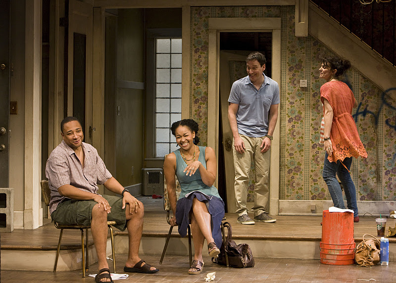 a review of clybourne park a play by bruce norris Bruce norris' clybourne park—the first work to the play elsewhere, but i'm sure portland center stage's bracing talk about in my little review.