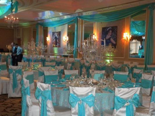 sweet 16 decorations for a tiffany theme party birthday party ideas