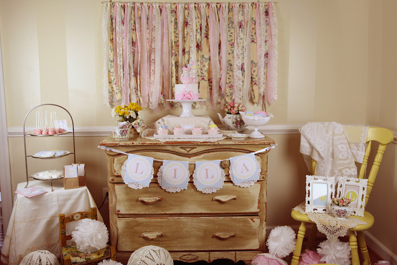 Vintage Teddy Bear Tea Party