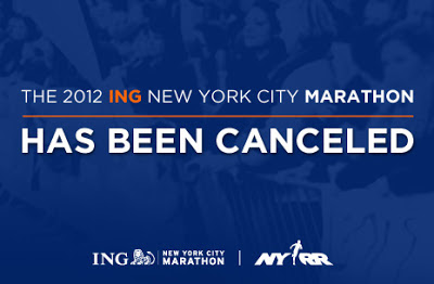 NYC Marathon canceled