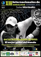Cartel de los Internacionales de Andalucía de Pádel 2011