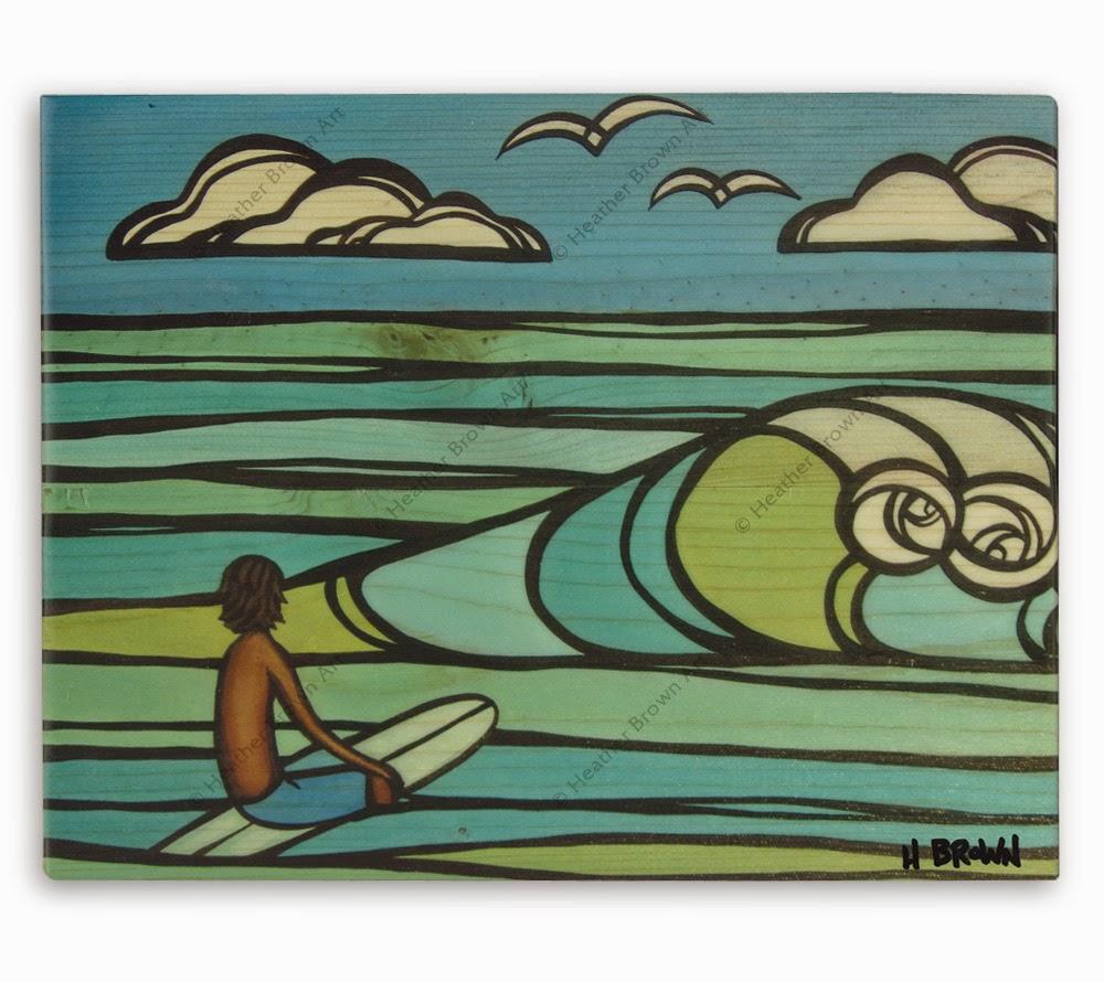 surfing art