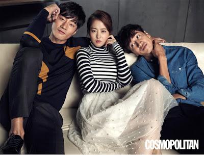 Park Bo Young Lee Kwang Soo, Lee Chun Hee Cosmopolitan