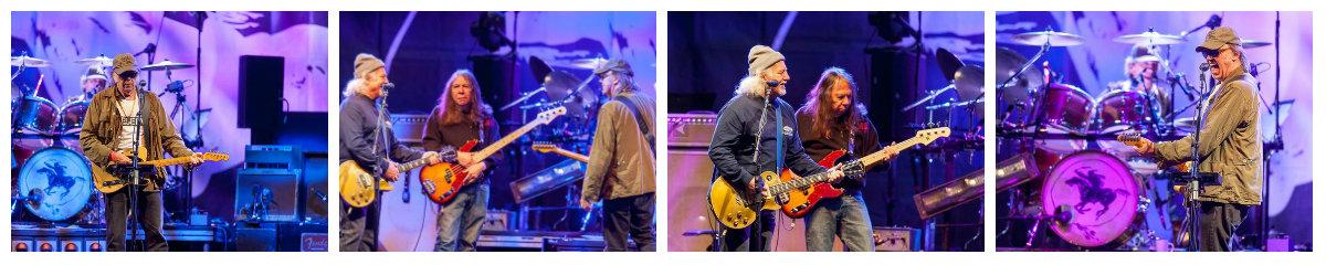 Neil Young, Poncho Sampedro, Rick Rosas