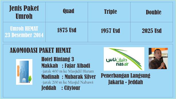 Umroh Hemat Desember 2014