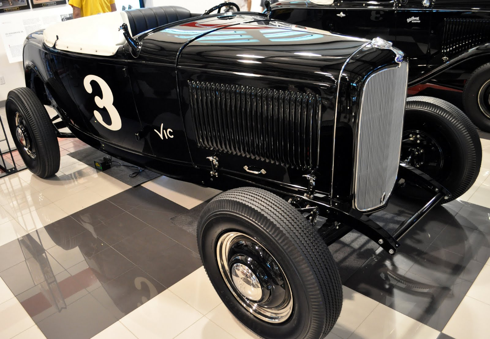 Just A Car Guy: Vic\'s Garage, the collection of Edelbrock race ...