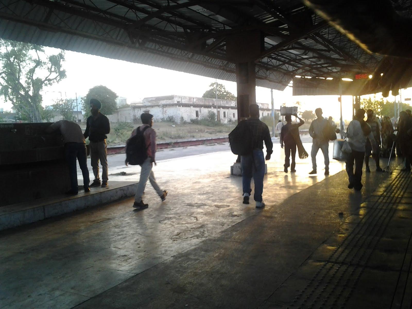 Zug von Delhi nach Amritsar