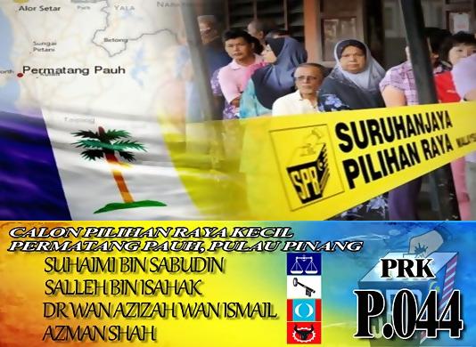 Keputusan Penuh PRK Parlimen Permatang Pauh Majoriti Menurun
