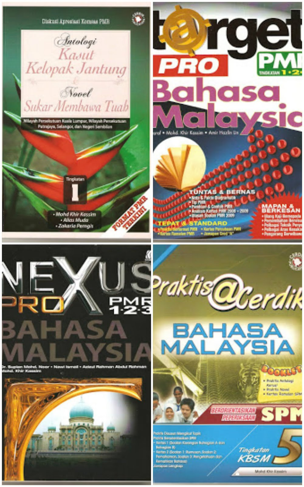 Buku Ulasan Antologi Kasut Kelopak Jantung 2010/Buku Target Pro BM PMR Terbaharu 2010