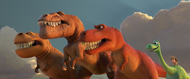 t-rex good dinosaur 2015 movie still