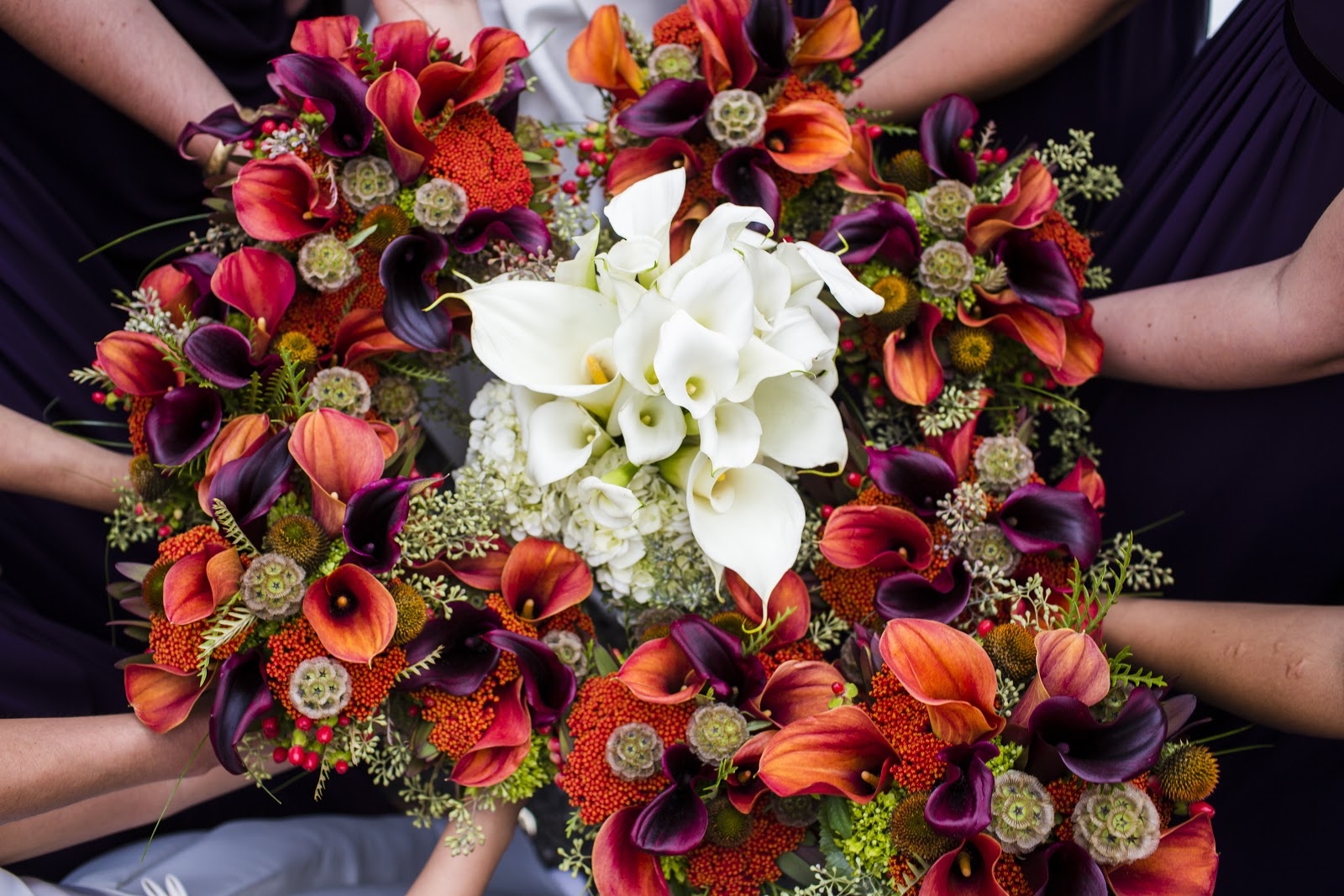 jeff french floral & event design Late September wedding at Harrington Farm