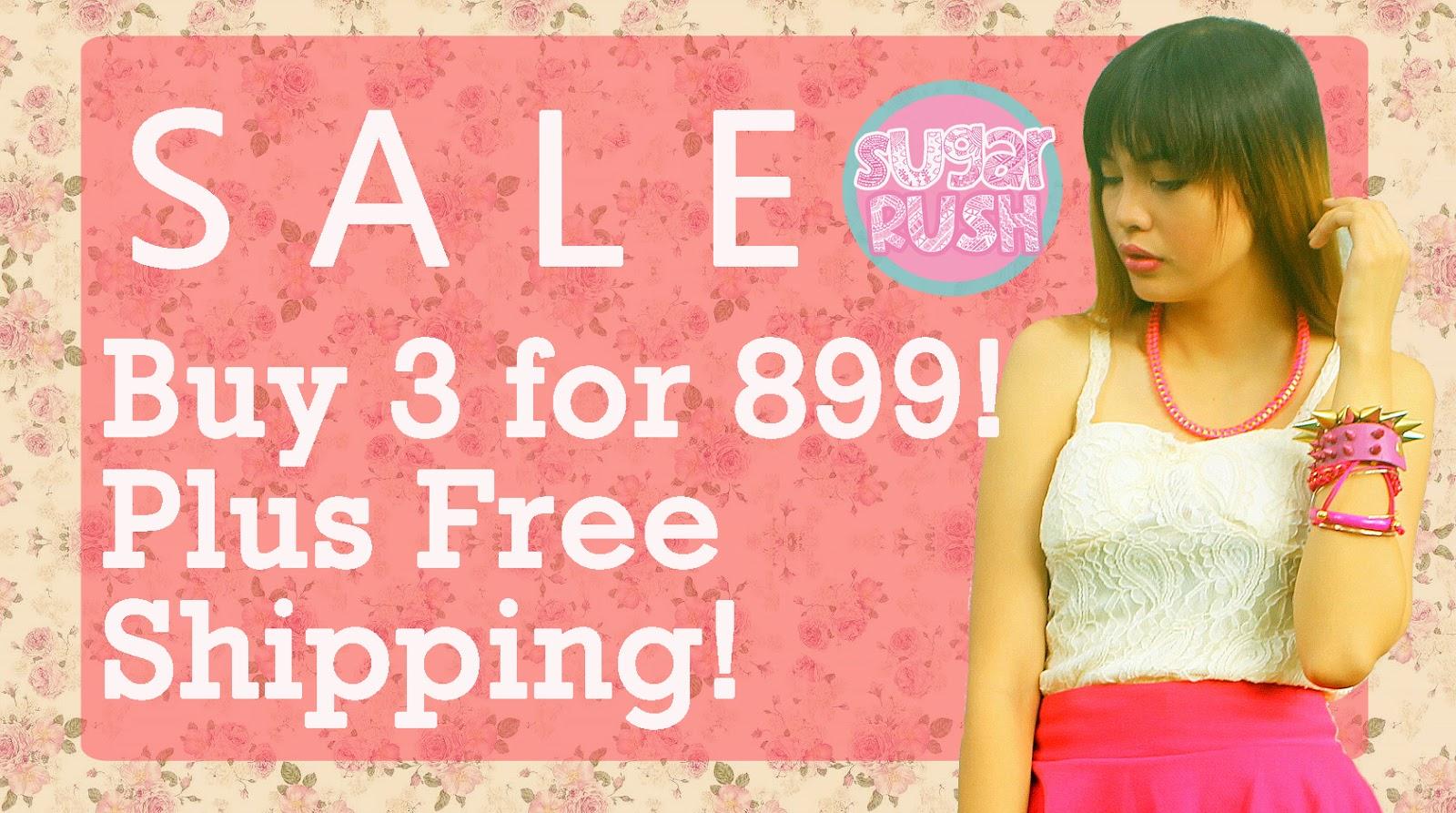 Sugar-Rush Sale Clothing Philippines