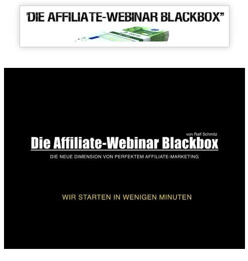Die Blackbox von Ralf Schmitz Webinar-Aufzeichnung