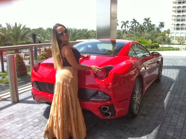 Teste da Ferrari na Praia - Panico na TV