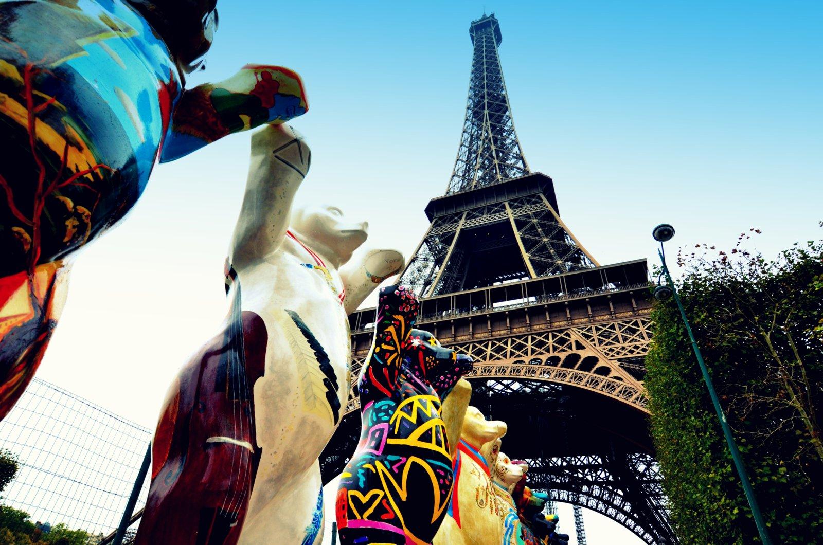 Orsi a Parigi: gli United Buddy Bears!