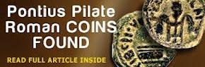 Pontius Pilate, Roman COINS FOUND