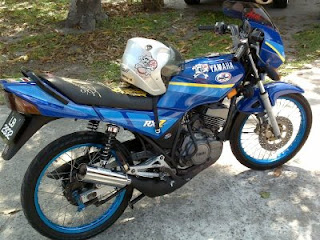Yamaha rxz Modified
