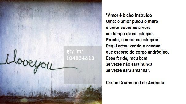 Frases de Carlos Drummond de Andrade - Belas Mensagens