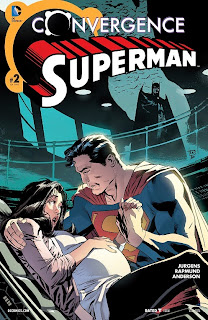 Cover of Convergence: Superman #2 from DC Comics