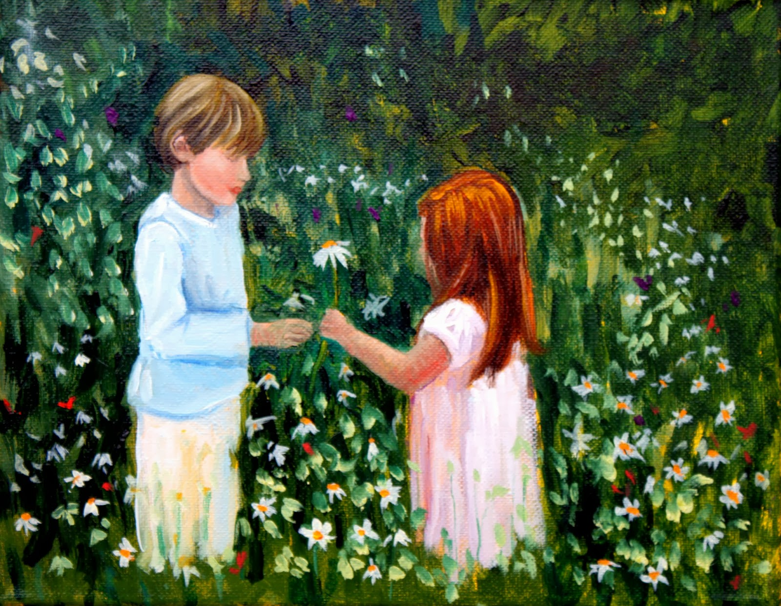 Field's End Art by Hilary J. England: Little Lovers