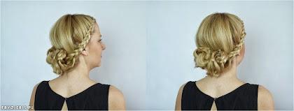 fryzura ślubna 69