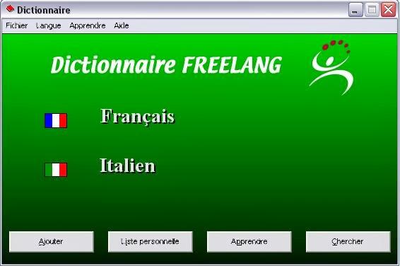 Fjalor Frengjisht Italisht