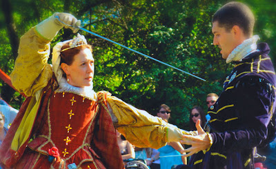 Reenactment Activities in Renaissance Festivals