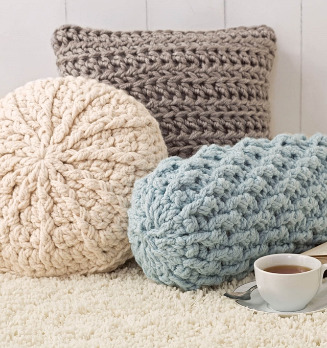 Crochet Stitches Chunky : COZY CROCHET PATTERNS TO MAKE - Little Things Blogged