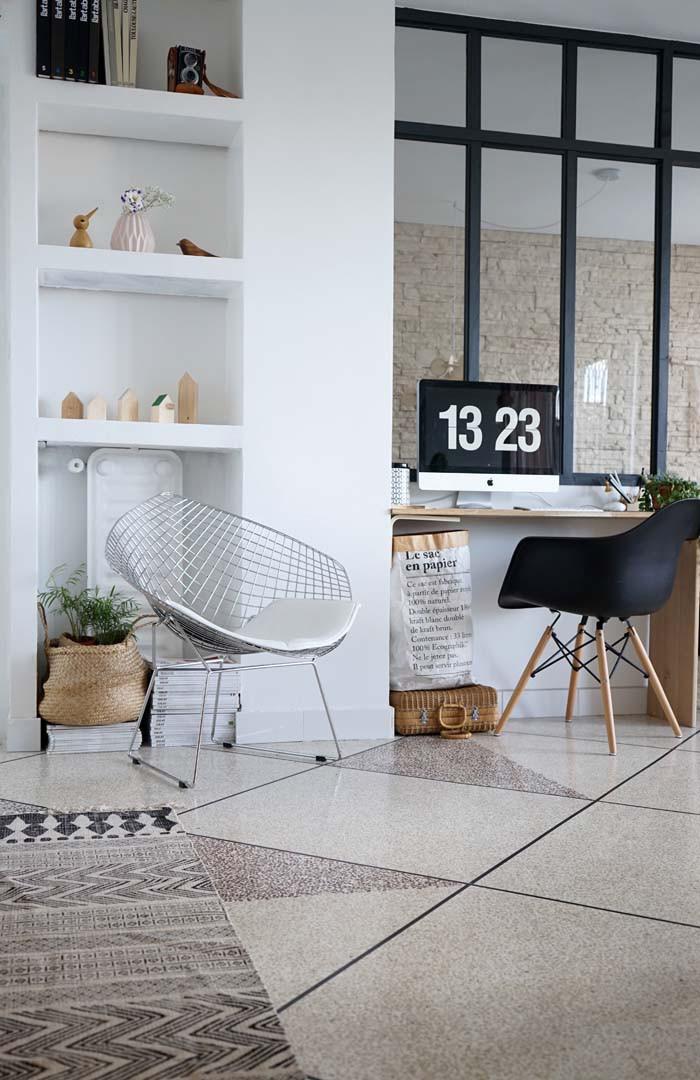 C mo hacer un separador de ambientes con zona de trabajo - Style atelier d artiste ...