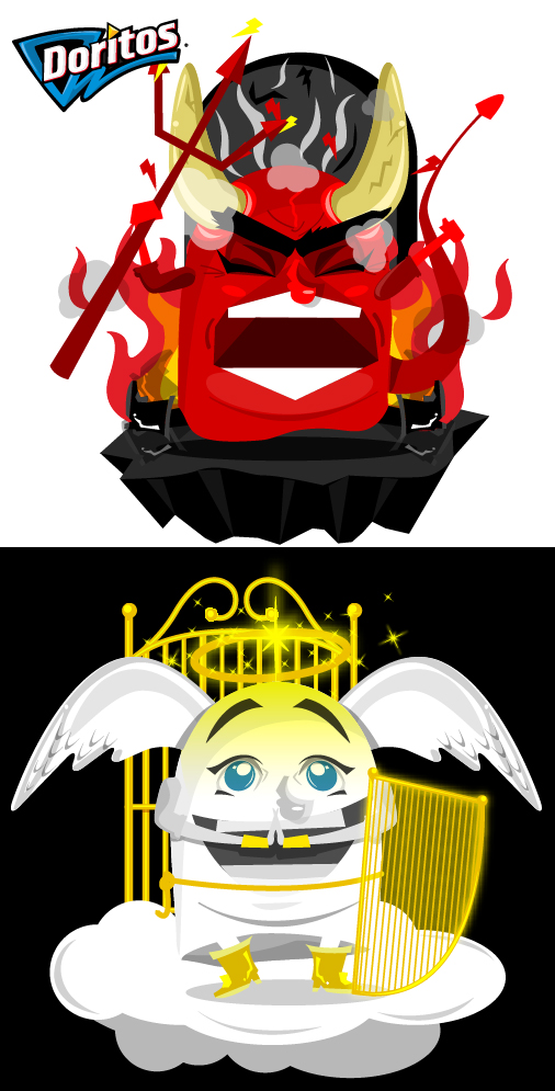 Doritos good and evil