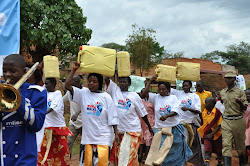 Walking in solidarity with the millions of people with out access to safe  water and sanitation