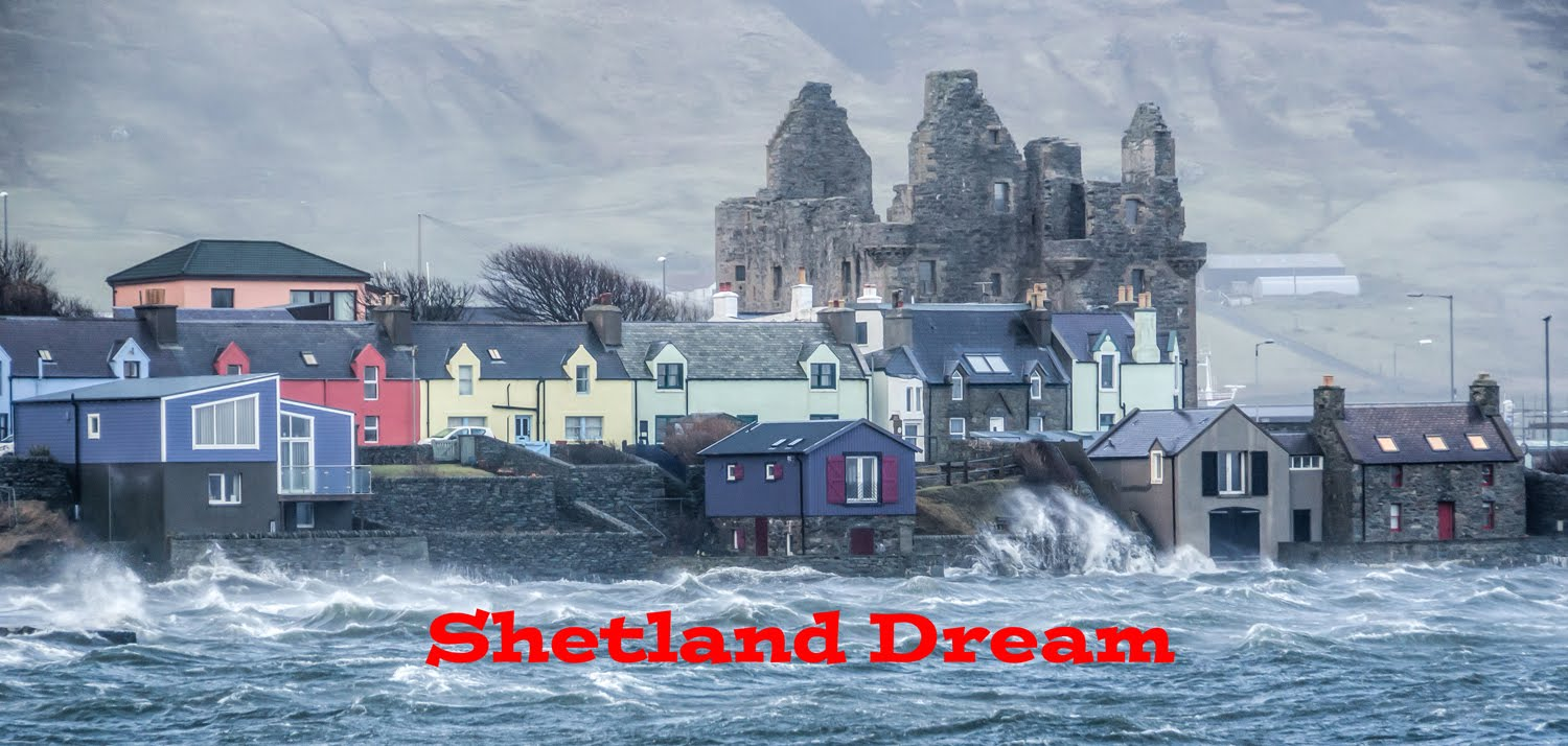 Shetland move and experiences