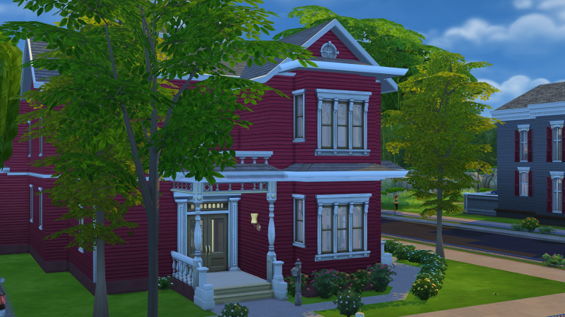 my sims 4 blog: charmed - halliwell manor - no ccsimsical creations