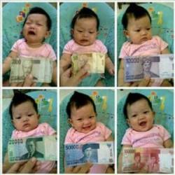 gambar dp bbm anak suka uang